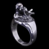 【龍頭】<br />龍指輪<br />- メンズ 指輪 リング -