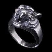 【龍頭】<br />虎指輪<br />- メンズ 指輪 リング -