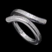 【龍頭】<br>チリ目鎚目リング<br />- メンズ 指輪 リング -