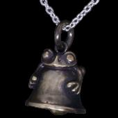 【龍頭】<br />蛙鈴ペンダントトップ 真鍮<br />- メンズ ペンダント -