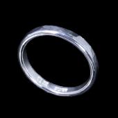 【龍頭】<br>丸鎚目リング 幅3mm<br />- メンズ 指輪 リング -
