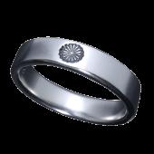 【龍頭】<br />菊平打ちリング<br />- メンズ 指輪 リング -