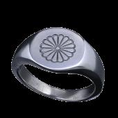 【龍頭】<br />菊印台リング<br />- メンズ 指輪 リング -