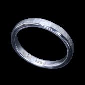 【龍頭】<br>岩石丸鎚目リング 幅3mm<br />- メンズ 指輪 リング -