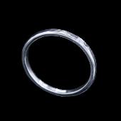 【龍頭】<br>丸鎚目リング<br>一連 幅2mm<br />- メンズ 指輪 リング -