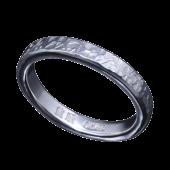 【龍頭】<br>籠目鎚目リング 幅3mm<br />- メンズ 指輪 リング -