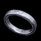 【龍頭】<br>小花鎚目リング 幅3mm<br />- メンズ 指輪 リング -