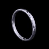 【龍頭】<br />甲丸丸鎚目リング<br>一連 幅2mm<br />- メンズ 指輪 リング -