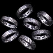 【龍頭】<br />鎚目リング 5mm幅 各種<br />- メンズ 指輪 リング -