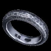 【龍頭】<br />甲丸岩石丸鎚目リング<br />- メンズ 指輪 リング -