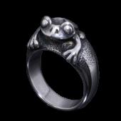 【龍頭】<br />蛙指輪<br />- メンズ 指輪 リング -