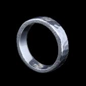 【龍頭】<br />丸鎚目リング<br />- メンズ 指輪 リング -