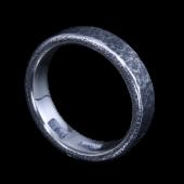【龍頭】<br />岩石丸鎚目リング<br />- メンズ 指輪 リング -