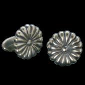 【龍頭】菊カフス 真鍮