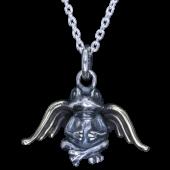 【龍頭】<br>天使蛙ペンダントトップ<br />- メンズ ペンダント -