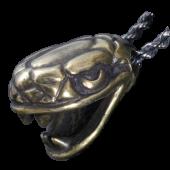 【龍頭】蛇頭ペンダントトップ<br>真鍮