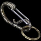 蛇カラビナ<br />真鍮