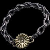 【龍頭】菊×<br />岩石ブレスレット