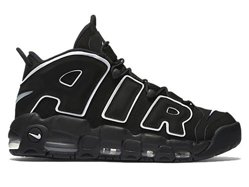 NIKE AIR MORE UPTEMPO BLACK/WHITE | アップテンポ バッシュ