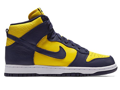 "NIKE DUNK RETRO QS ""MICHIGAN"" 