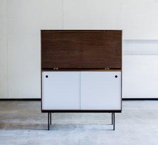 Familia cabinetdesk - walnut