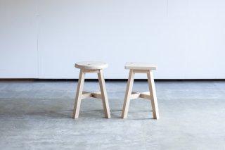 食堂椅子 - ヒノキ