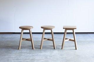 食堂椅子 - ナラ