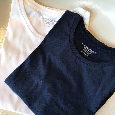 MAJESTIC FILATURES(マジェスティック フィラチュール) レディス コットンラウンドネック半袖Tシャツ
