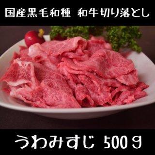 和牛切り落とし 500g 焼肉 すき焼きスライス肉 国産 黒毛和種