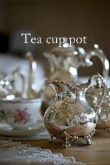 Cup & saucer Teapot