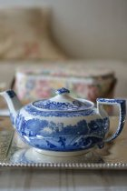 Spode/Copelandブルーイタリアンのティーポット<img class='new_mark_img2' src='https://img.shop-pro.jp/img/new/icons49.gif' style='border:none;display:inline;margin:0px;padding:0px;width:auto;' />