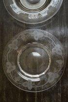 葡萄のガラスプレート(在庫:2枚)