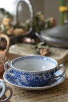 スープカップ&ソーサー(在庫:7客→1客)