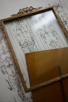 真鍮リボン装飾のフォトフレーム