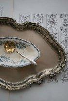 ロココ装飾のテーブルトレイ