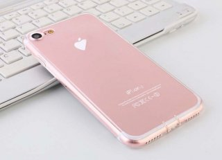 iPhone7用 Ultra-thin 超薄型 ABS樹脂 シンプルクリアケース ステッカーとiPhoneを傷から守る<img class='new_mark_img2' src='https://img.shop-pro.jp/img/new/icons12.gif' style='border:none;display:inline;margin:0px;padding:0px;width:auto;' />