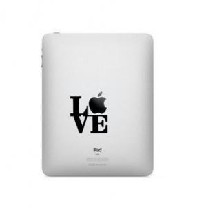 iPad対応 アートステッカー LOVE