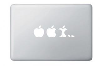 全サイズMacBook対応 アートステッカー Apple Evolution