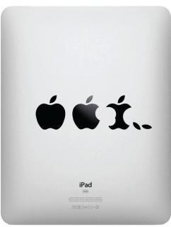 iPad対応 アートステッカー Apple Evolution
