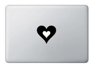 全サイズMacBook 対応 アートステッカー ハートマーク バレンタインデー<img class='new_mark_img2' src='https://img.shop-pro.jp/img/new/icons59.gif' style='border:none;display:inline;margin:0px;padding:0px;width:auto;' />