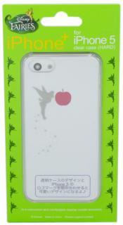 iPhone5,5s用クリアケース Disney iPhone+ ディズニーアイフォンプラス Tinker Bell ティンカーベル