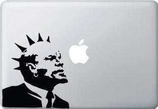 13インチ15インチ17インチMacBook 対応 アートステッカー Banksy バンクシー デザイン Punk Rock Lenin<img class='new_mark_img2' src='https://img.shop-pro.jp/img/new/icons29.gif' style='border:none;display:inline;margin:0px;padding:0px;width:auto;' />