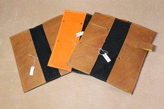 グローブ革で作った手帳カバー(B級品)