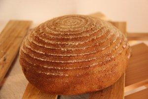 「愛」 無農薬全粒粉100%!麦の旨味を丸ごと味わえる〜香ばしくキメ細やかな食感〜