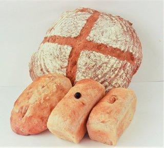 古代小麦100%パンセット(スペルト小麦パン)