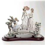 LLADRO(リヤドロ) 01001879 Lladro Bridge of Dreams Porcelain Sculpture with Base