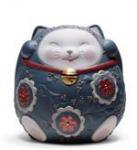 LLADRO(リヤドロ) #08529 MANEKI NEKO II BLUE<img class='new_mark_img2' src='//img.shop-pro.jp/img/new/icons40.gif' style='border:none;display:inline;margin:0px;padding:0px;width:auto;' />