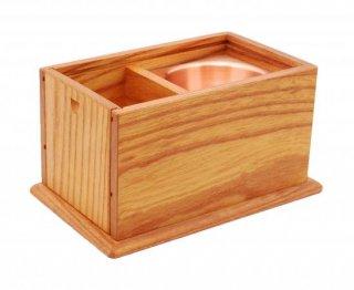 【一品物】 欅製 携帯用角香炉