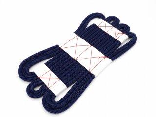手巾 二重正絹かぶせ 紺×古代紫 グラデーション