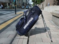 <img class='new_mark_img1' src='https://img.shop-pro.jp/img/new/icons14.gif' style='border:none;display:inline;margin:0px;padding:0px;width:auto;' />BRIEFING  Caddie Standbag   CR-4 #02   navy